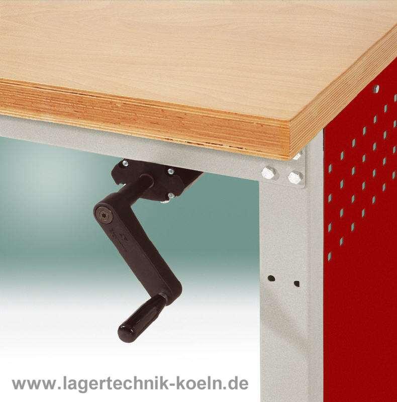 werkbank h henverstellbar platte kunststoff 1250x700 mm ebay. Black Bedroom Furniture Sets. Home Design Ideas