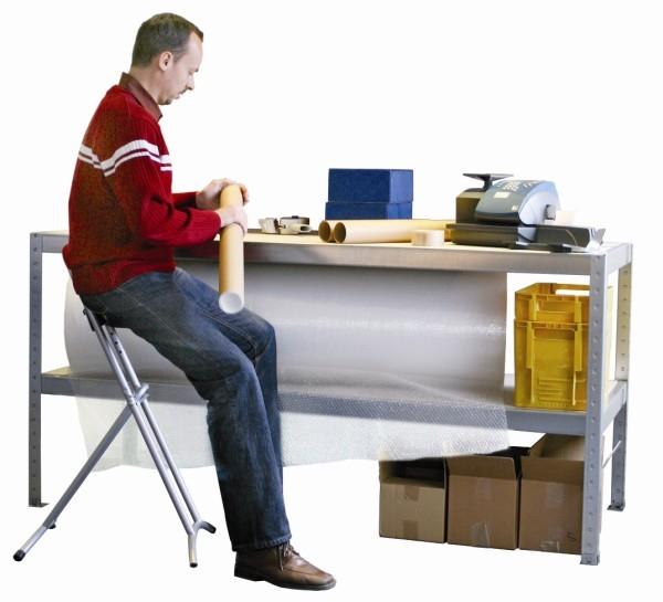META SPEED-RACK Packtisch 970 x 2000 x 800 mm, 2 Ebenen