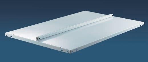 META FIX Zusatzboden 1250 x 600 zweiseitig, lichtgrau