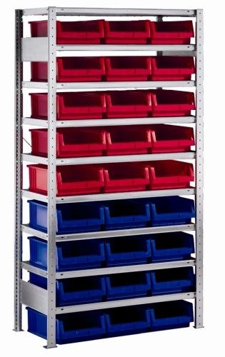 meta clip grundregal 2000 x 1000 x 500 mm 9 b den 27 k sten. Black Bedroom Furniture Sets. Home Design Ideas