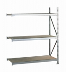META MINI-RACK Anbauregal 2200 x 1400 x 800 mm, 3 Ebenen, Spanplattenauflage