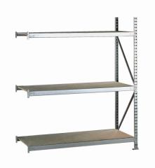 META MINI-RACK Anbauregal 2200 x 1800 x 650 mm, 3 Ebenen, Spanplattenauflage