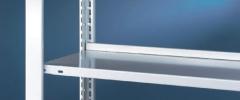 META CLIP Zusatzboden 750 x 300 einseitig, lichtgrau