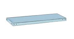 META CLIP Abdeckboden 750 x 300 einseitig, lichtgrau