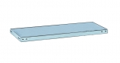 META CLIP Abdeckboden 1250 x 300 einseitig, lichtgrau