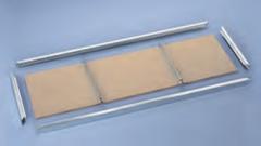 Spanplatte 1700 x 400 mm